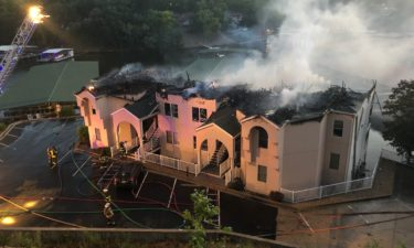 Fire at Lake of the Ozarks condos