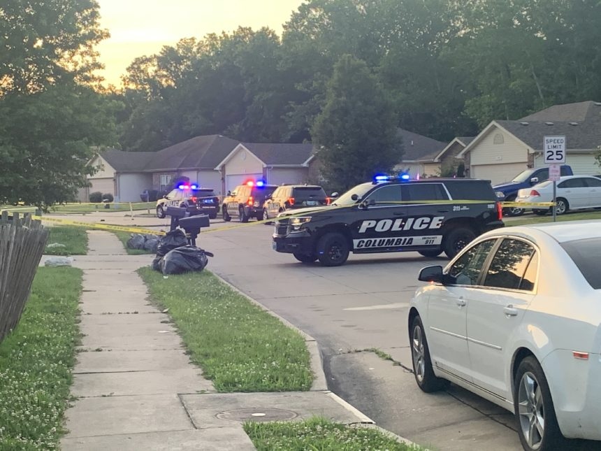 CPD responds to Bodie Drive Friday morning.