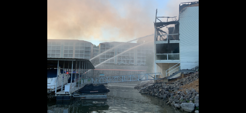 Lake of the Ozarks Fire Protections puts out massive condo fire
