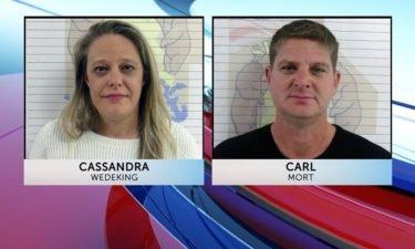 Cassandra Wedeking and Carl Mort