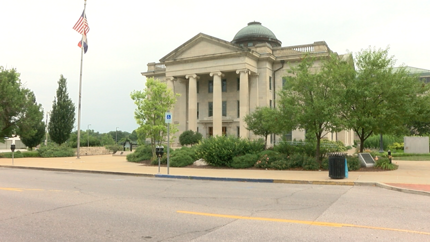 Boone County Courthouse 7-4