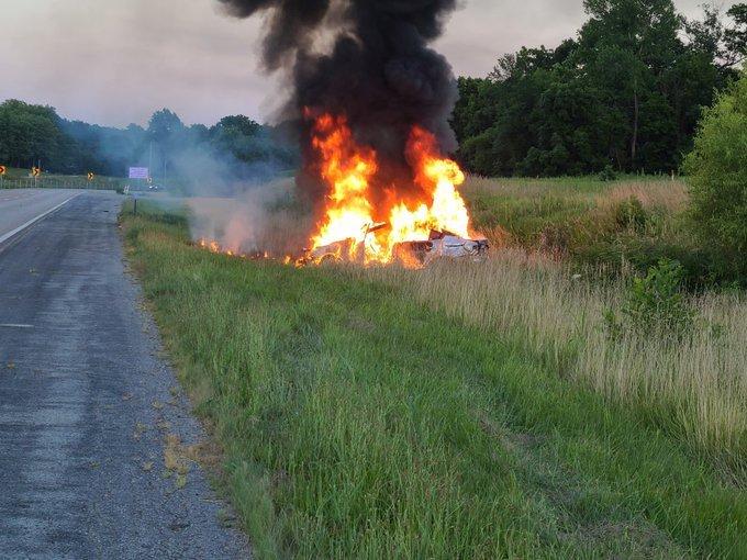 Callaway 63 crash