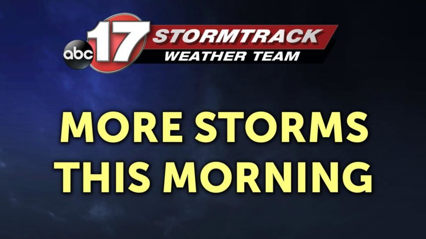 more storms this morning