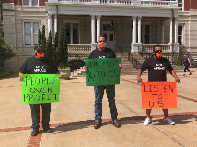 University of Missouri protestors