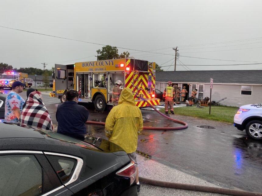 Cunningham fire scene