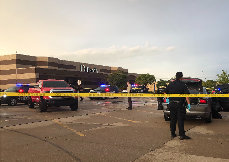 Columbia Mall parking lot shooting
