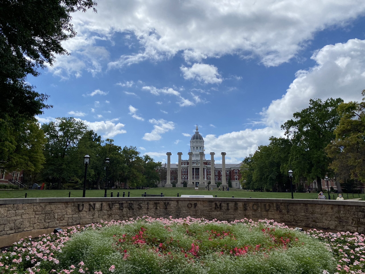 The University of Missouri campus