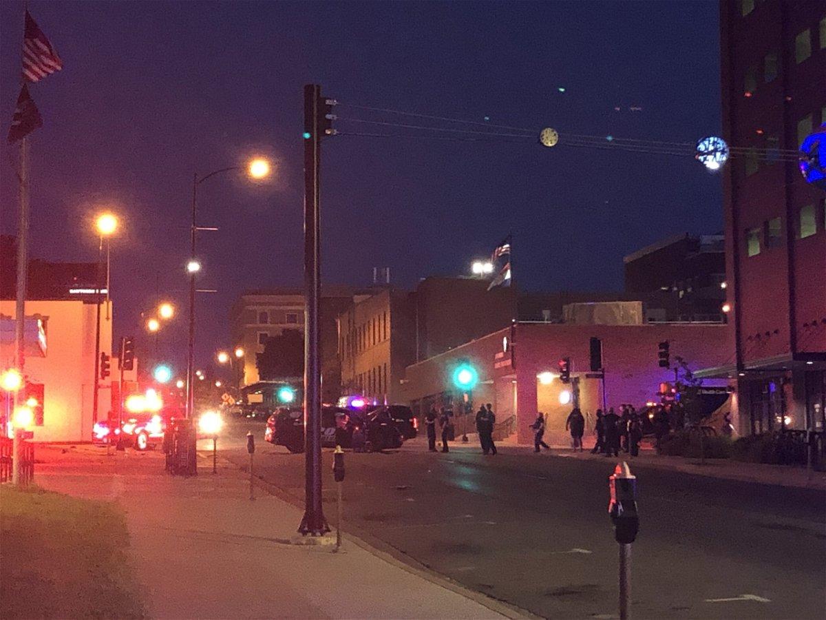 Walnut Street crash