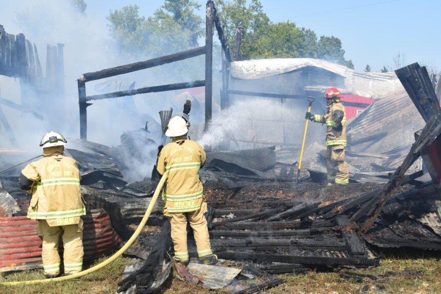 Helias Spur barn fire 9/21/2020