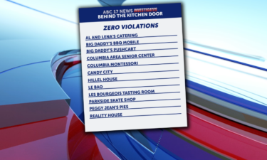 Some businesses found with no violations in the third week of September.