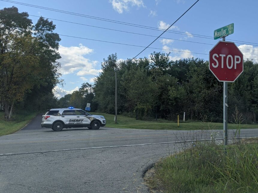 Boone County sheriffs deputy mauller road