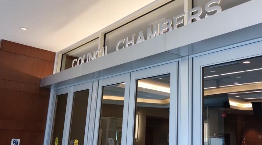 Columbia City Council Chambers