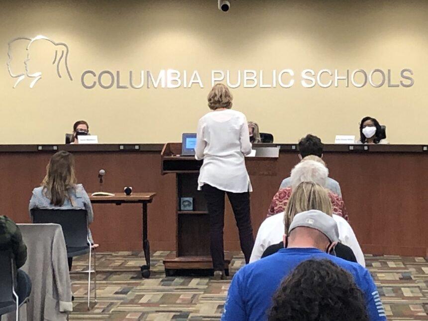 Columbia Board of Education meeting 10/12/2020
