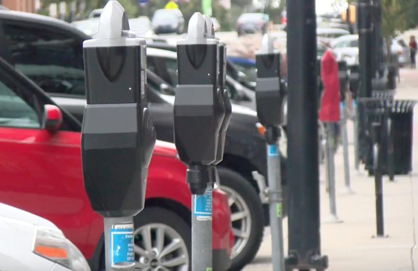 Downtown Parking Meter