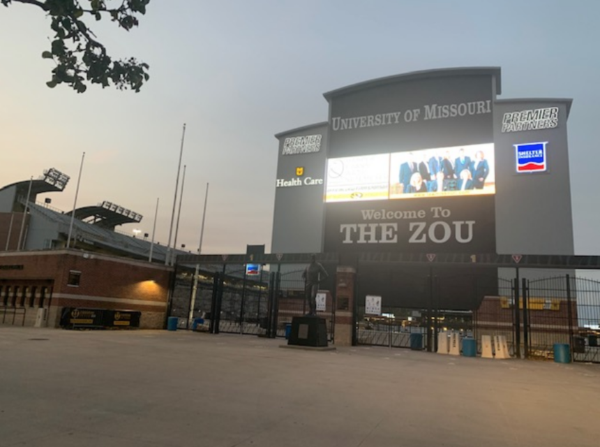 Faurot Field Entrance 10-17