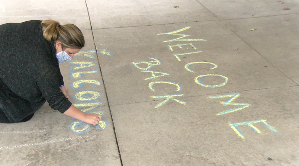 A CPS teacher prepares for students return in-person