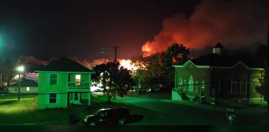 fulton fire photo
