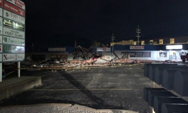 Storms hit Osage Beach causing damage to some businesses Saturday night.