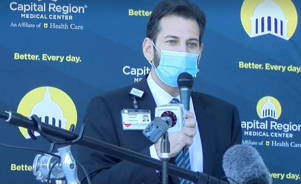 Capital Region Medical Center news conference