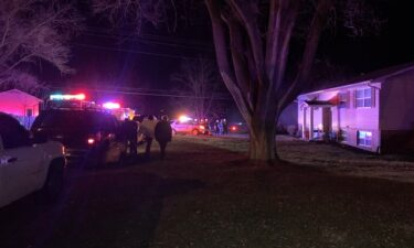 Boone County firefighters respond to a fire on Demaret Drive Saturday morning.