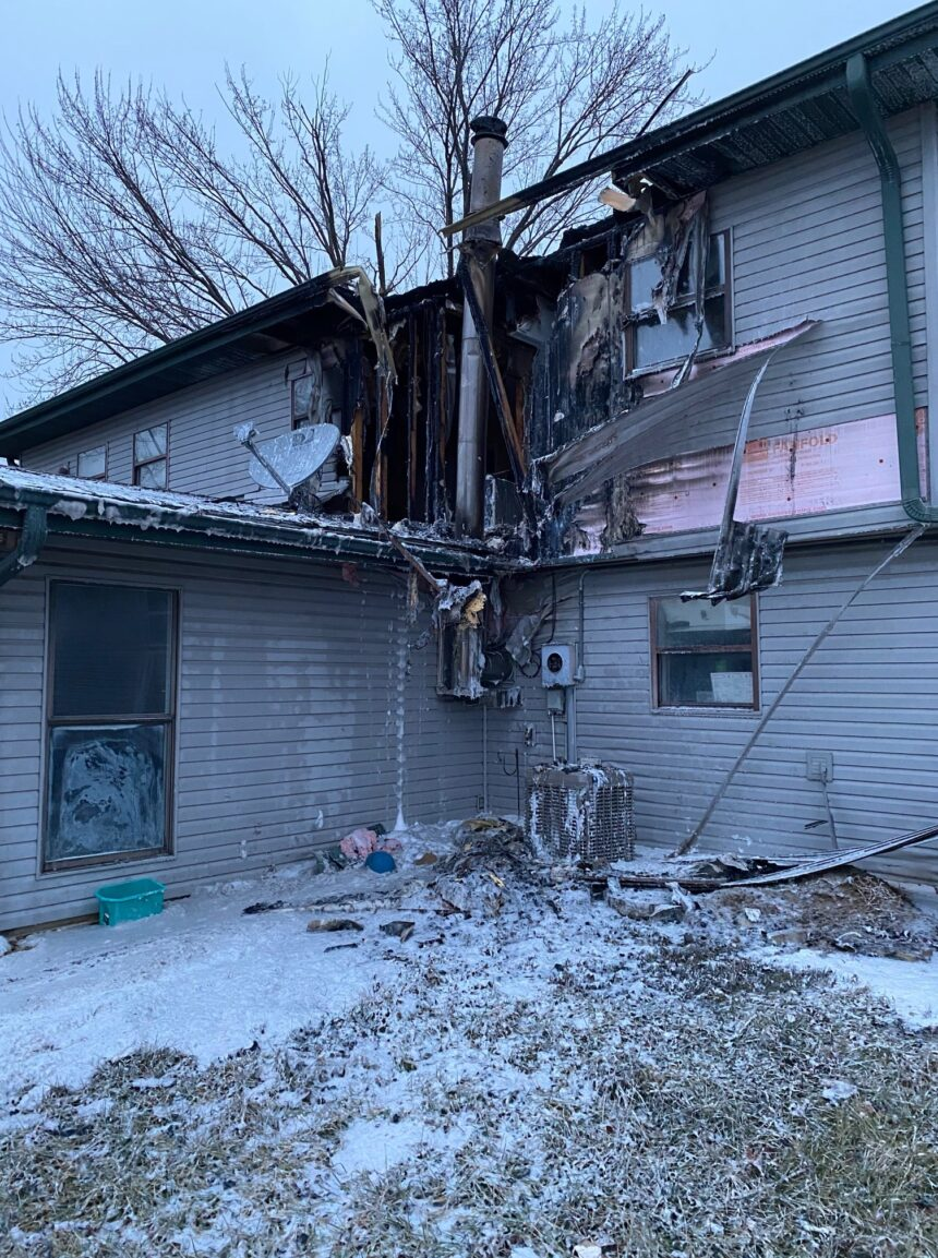 cavendish court residential structure fire