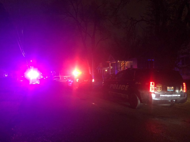 Columbia police respond to Hirth Avenue.
