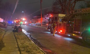 Columbia fire crews respond to a house fire on Rosemary Lane.