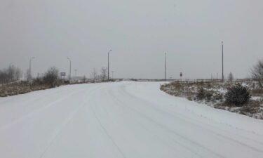 Snow on Gans Road