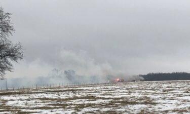 Zaring Road Barn Fire