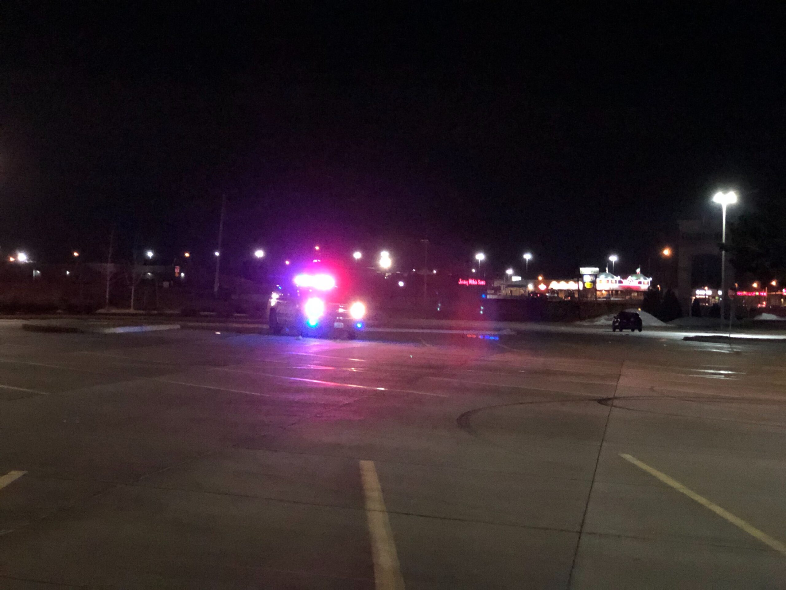 CPD set up a perimeter around the Columbia Mall area to find the driver, who fled on foot.