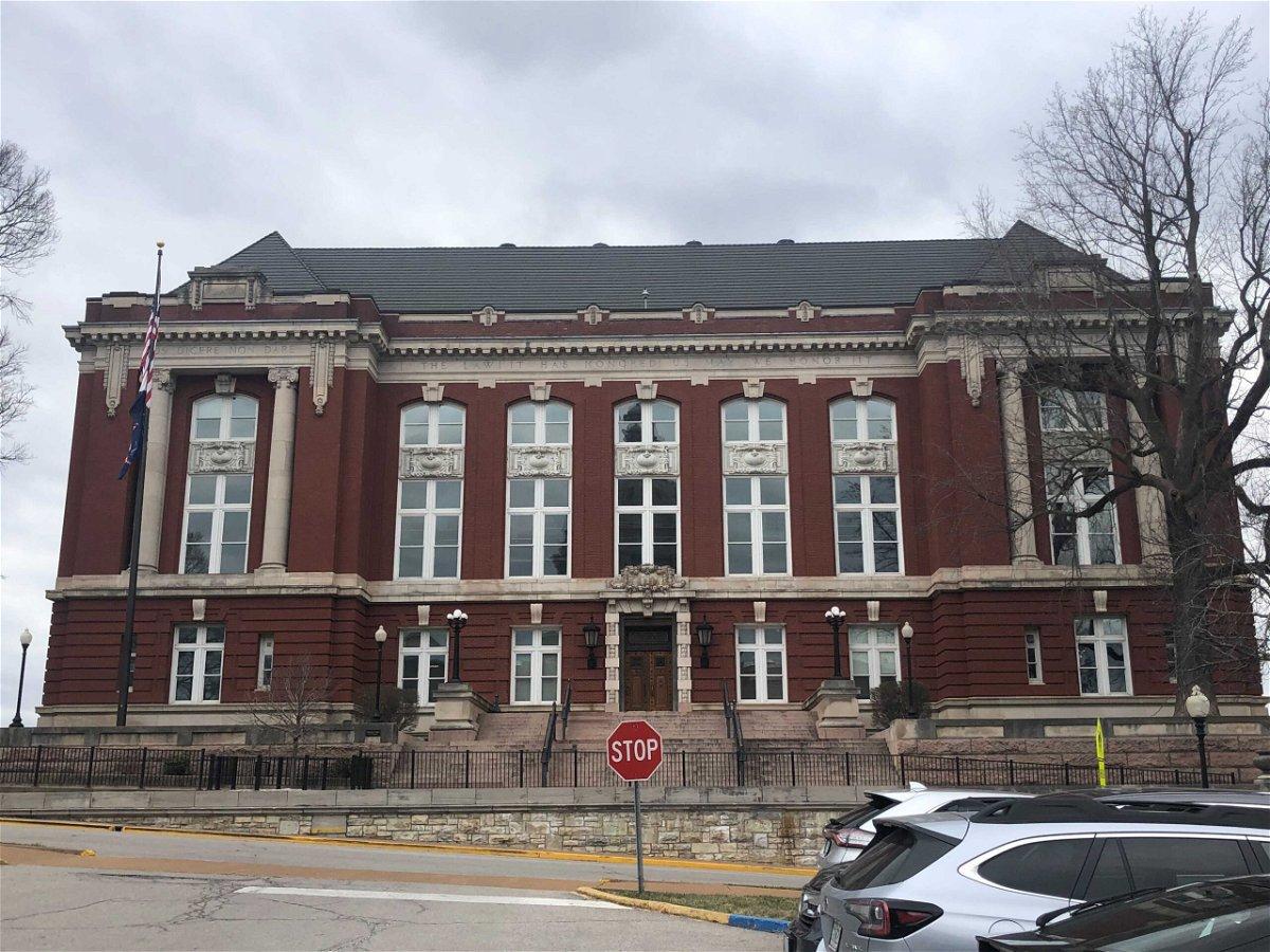 The Missouri Supreme Court building in Jefferson City.