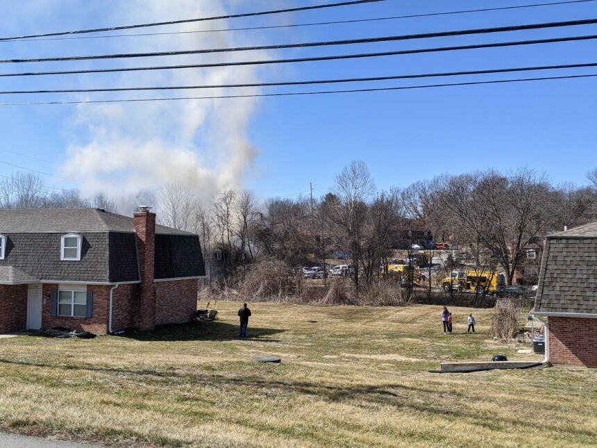 Germantown Drive structure fire