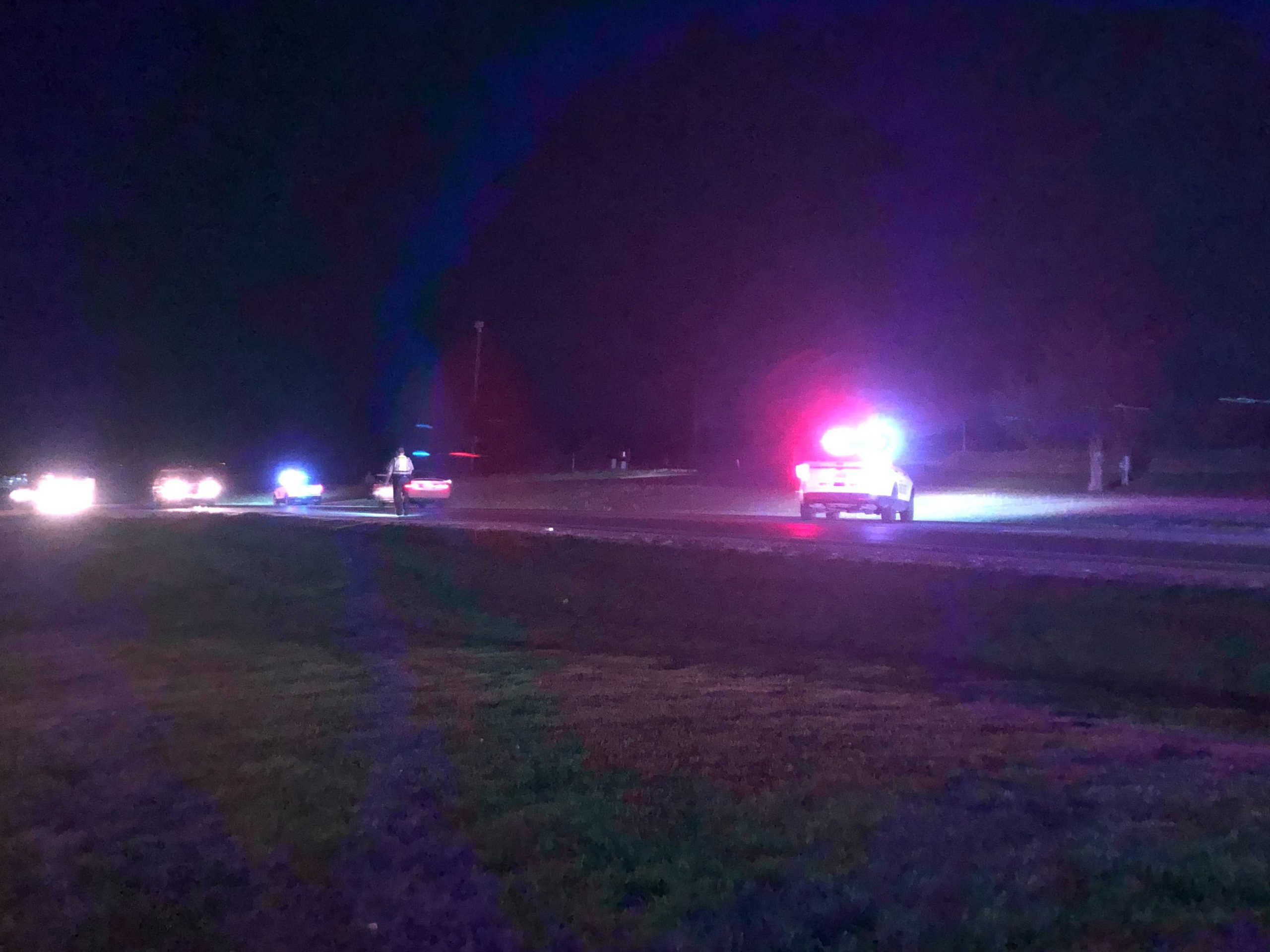 Missouri state troopers responded to a pedestrian crash on Highway 40 Sunday night, April 25, 2021.