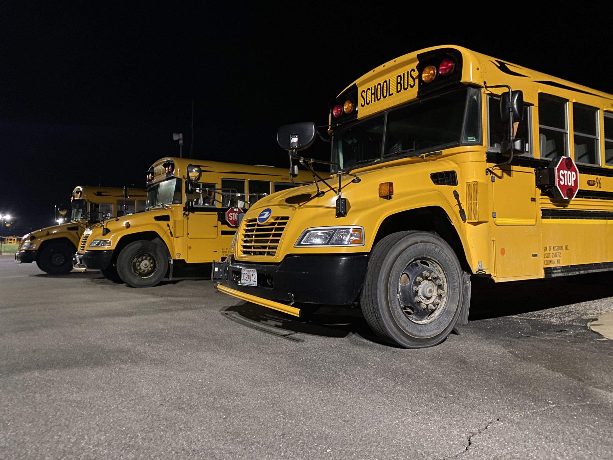 Columbia Public Schools buses.