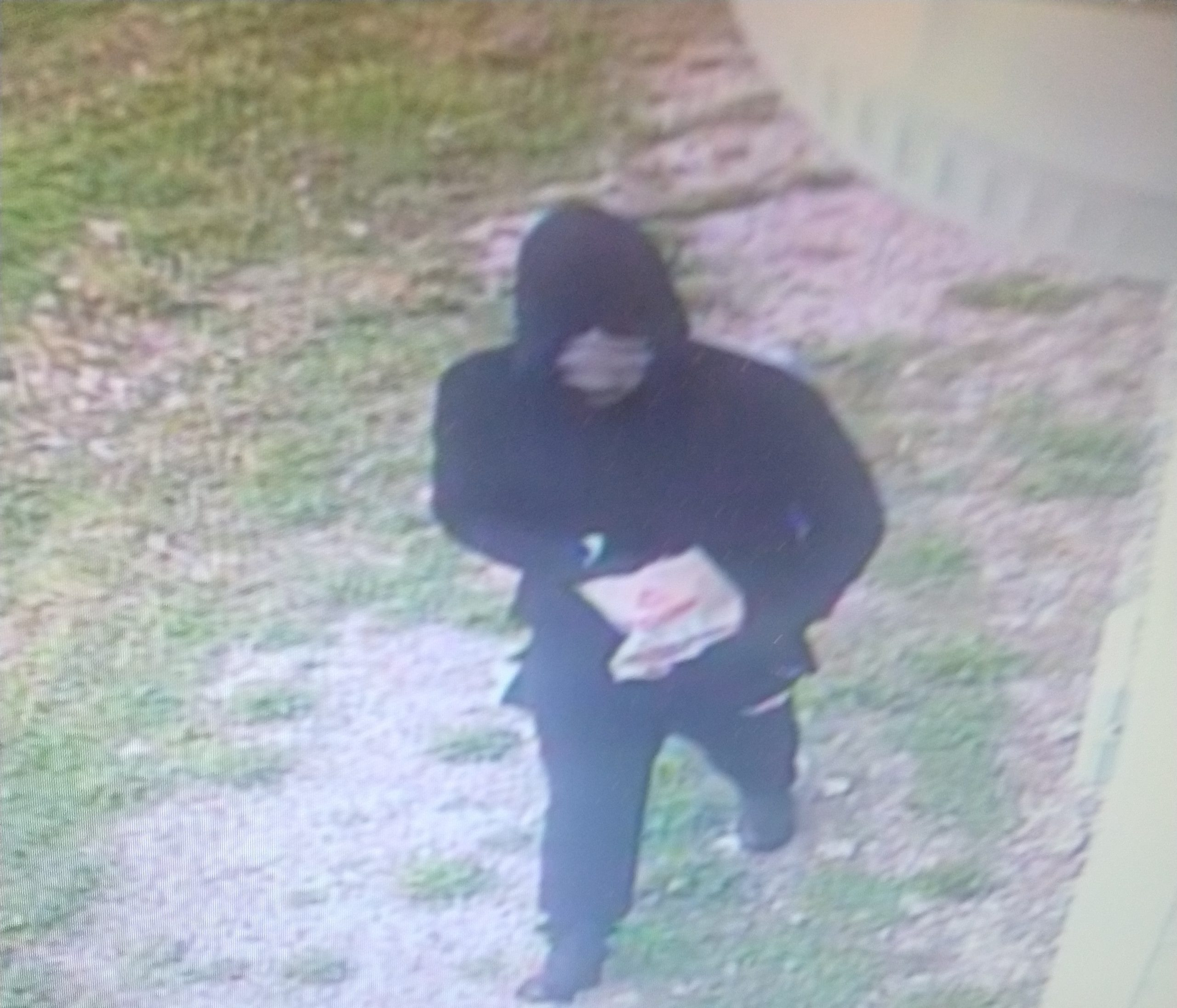 Moberly police say this person is responsible for an armed robbery reported in the 1000 block of N. Morley Street on Saturday, April 17, 2021.