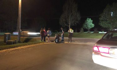 Deputies respond to a motorcycle collision in Columbia.