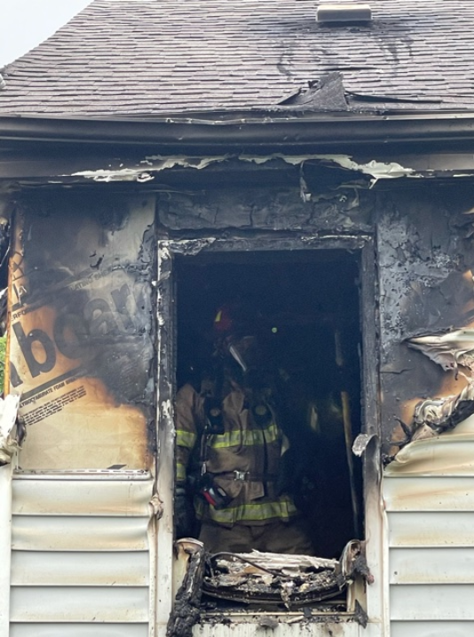 Firefighters responded to a house fire on St. Louis Road in Jefferson City on Friday, May 28.