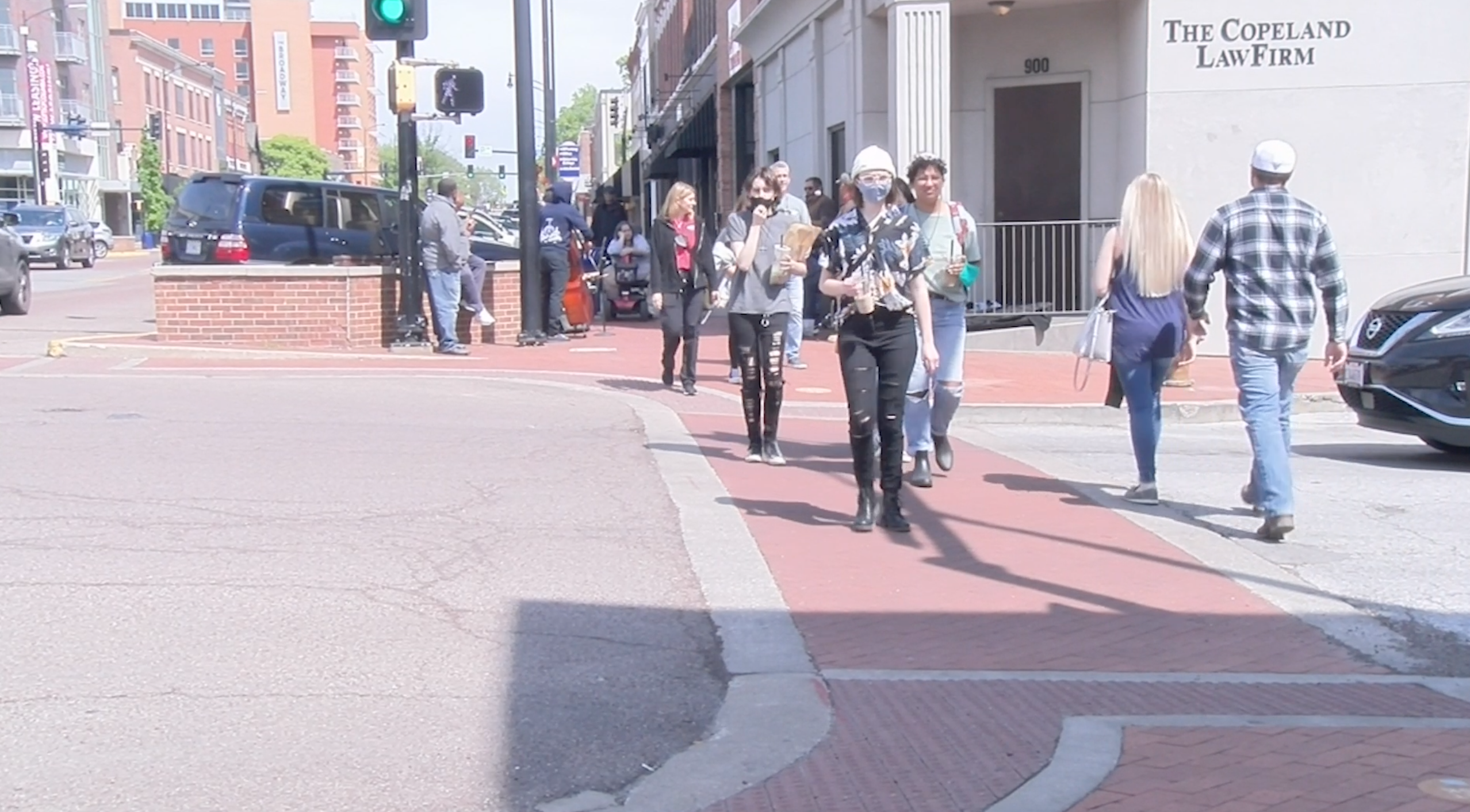 Weekend events bring more people into Columbia resulting in more traffic for businesses