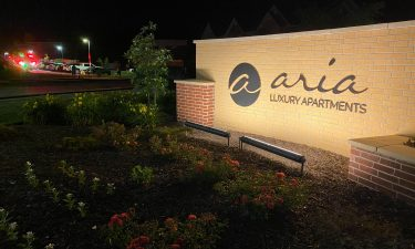 No injuries after unattended cooking fire at Aria Apartments.