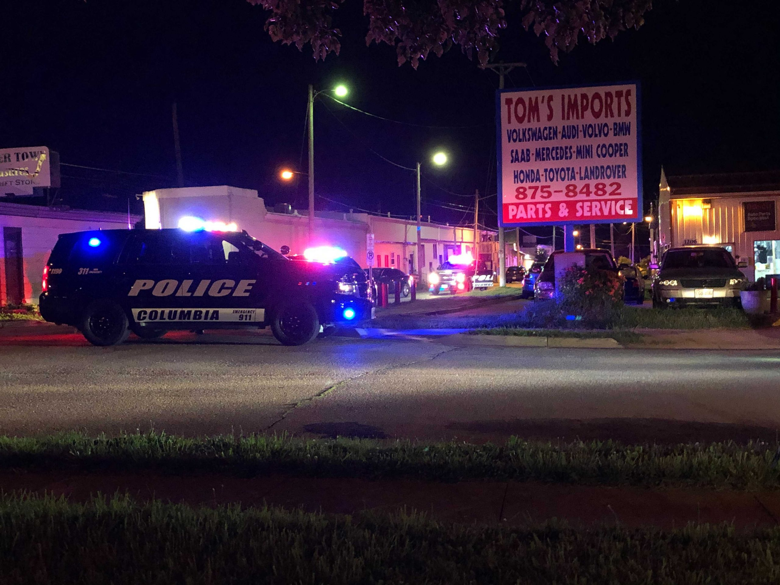 Law enforcement is investigating after shots were fired near Plush Lounge early Saturday morning.