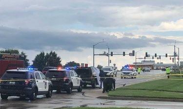 Jefferson City police shooting scene