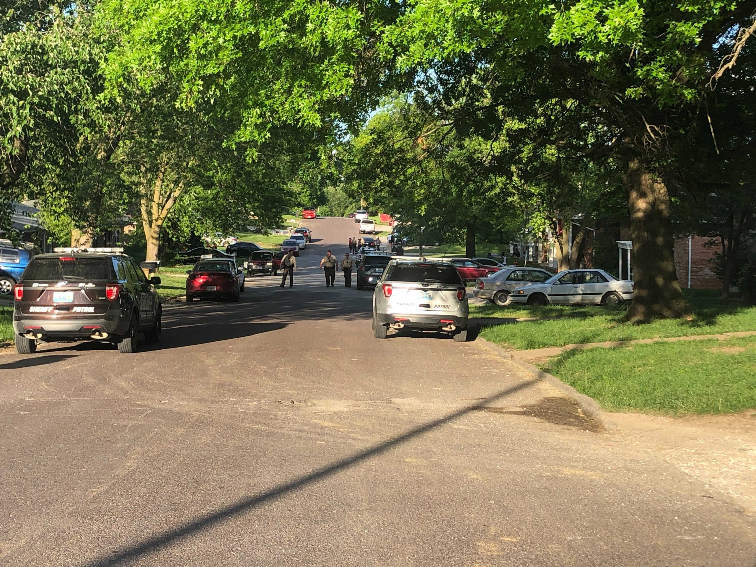 Boone County deputies investigate a shots-fired call Tuesday, June 8, 2021, on Demaret Drive outside Columbia.