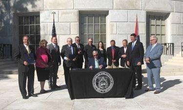 Parson signs health order bill