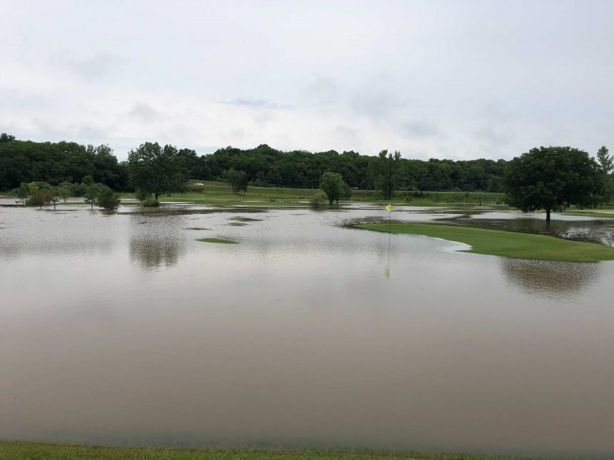 Midway Golf flooded