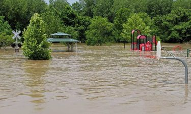 Flooding at Jay Dix Station