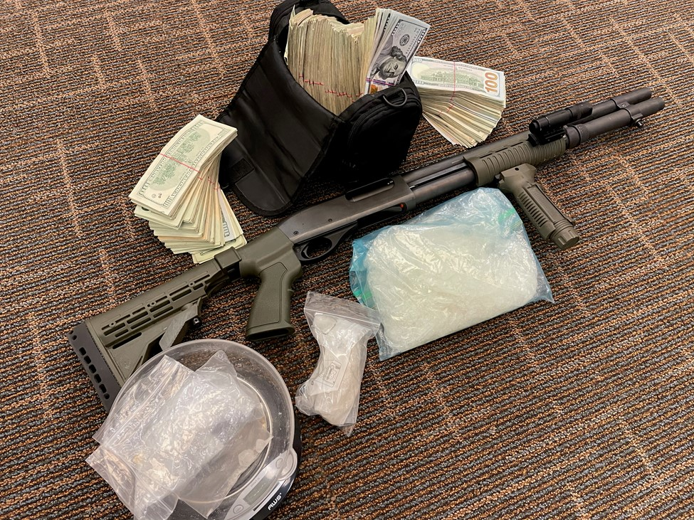 Authorities arrested a man after serving a search warrant in Jefferson City on Thursday, June 3.