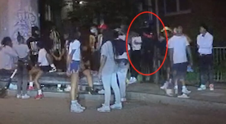 <i>Atlanta Police Department</i><br/>Investigators are seeking the public's help identifying a person who was involved in the shooting death of a 14-year-old boy in northwest Atlanta.