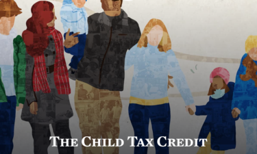 White House Child Tax Credit home page.