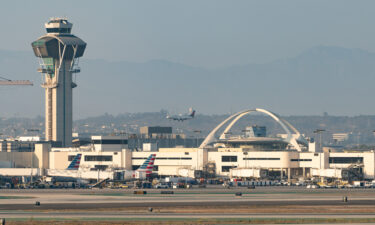 Air traffic controllers warned pilots that a person in a jetpack was spotted flying near LAX.