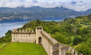 The Rocca di Angera is part of th the Borromeo properties on Lake Maggiore.